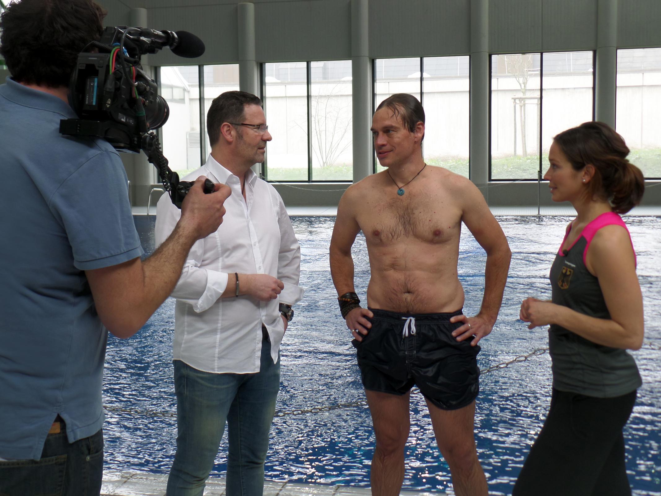 Oliver Heintz im Gespräch mit Harro Füllgrabe und Anna Bader